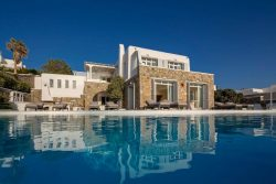 mykonos villa retreat with swimming pool